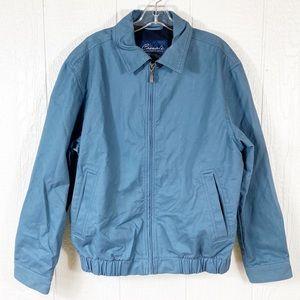 Mens Roundtree & Yorke Blue ZIP Up Jacket